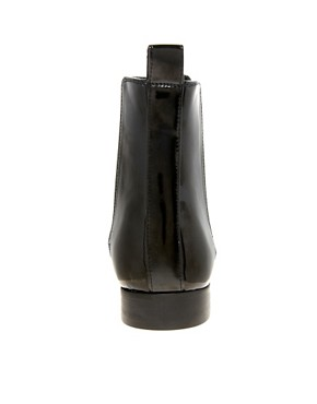Image 2 ofASOS Chelsea Boots in Patent