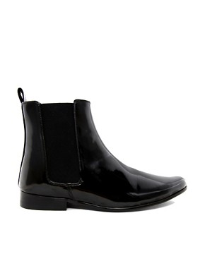 Image 4 ofASOS Chelsea Boots in Patent