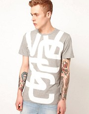 WESC  Biggest Overlay  T-Shirt mit Logo