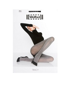 Image 3 ofWolford Tracy Houndstooth Tights