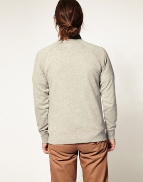 Image 2 ofMarshall Artist Classic Pocket Detail Sweatshirt