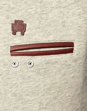 Image 3 ofMarshall Artist Classic Pocket Detail Sweatshirt