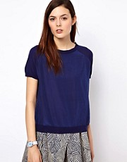 BZR Vicose Panelled Jumper