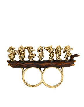 Image 1 ofDisney Couture 7 Dwarves Ring