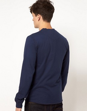 Image 2 ofEsprit Henley Long Sleeve Top