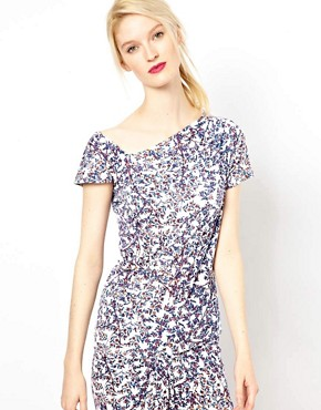 Image 1 of See By Chloe Blossom Print Assymetric Top
