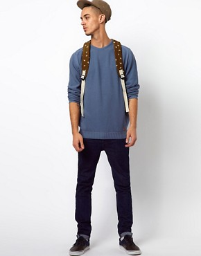 Image 4 ofBarbour Jumper with Pique Knit