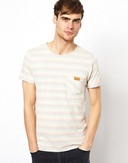 Native Youth T-Shirt In Multi Stripe