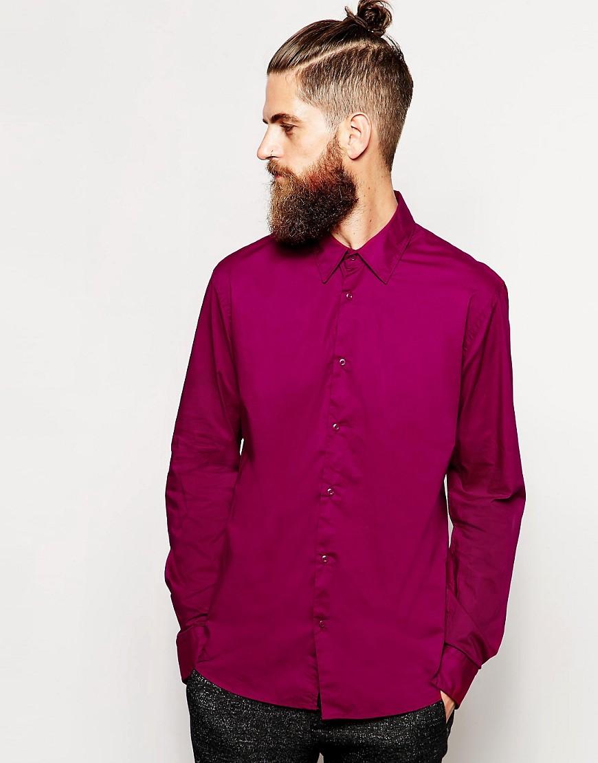 Scotch & Soda Shirt in Cotton - Red
