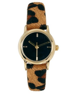 Image 1 ofRiver Island Leopard Helen Watch