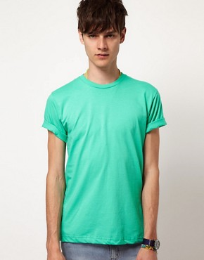 Image 1 ofAmerican Apparel Fine Jersey T-Shirt