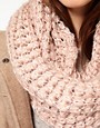 Image 2 ofWarehouse Open Weave Sequin Snood