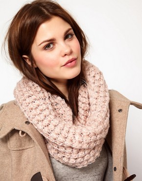 Image 1 ofWarehouse Open Weave Sequin Snood