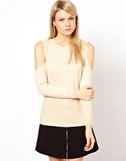 ASOS Jumper With Cold Shoulders