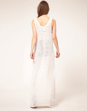 Image 2 ofZoe Tee&#39;s Devore Burnout Maxi Dress