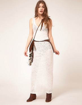 Image 4 ofZoe Tee&#39;s Devore Burnout Maxi Dress