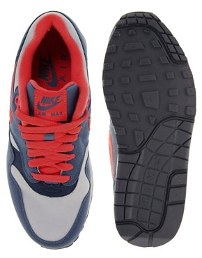Image 3 ofNike Air Max 1 ND Blue Trainers