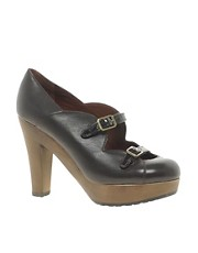 See By Chloe Leather Double Strap Shoe