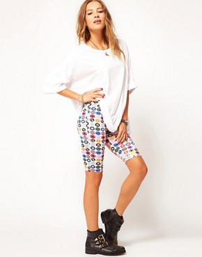 Image 1 of Martine Rose for ASOS Shorts In Badge Print