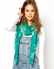 ASOS Cross Print Scarf