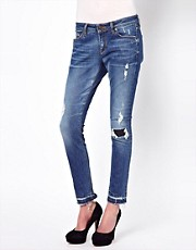 Zoe Karssen Distressed Skinny Jeans