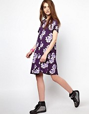 House of Holland Tee Dress in 90&#39;s Floral