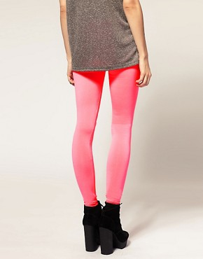Image 2 ofASOS Neon Leggings