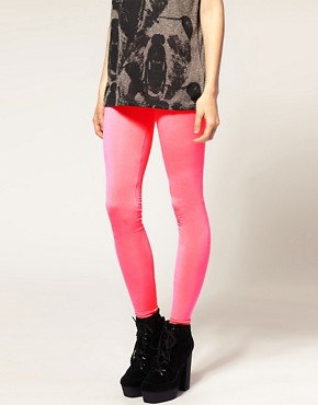 Image 4 ofASOS Neon Leggings