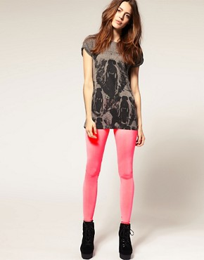 Image 1 ofASOS Neon Leggings