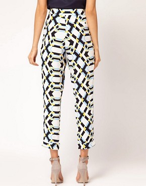 Image 2 of ASOS Loose Pants in Rocco Print