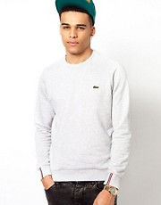 Lacoste Live Sweatshirt with Crocodile Logo