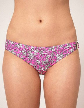 Image 1 ofRiver Island Bobby Daisy Sporty Bikini Brief