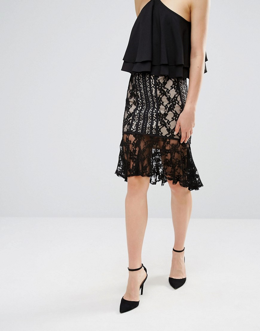 endless-rose-frill-hem-lace-midi-skirt-black