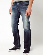 Diesel - Waykee 810L - Jeans dritti regular fit