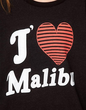 Image 3 ofWildfox J&#39;adore Malibu Sweater
