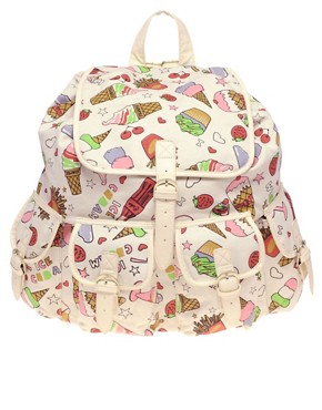 Image 1 ofASOS Ice Cream Backpack