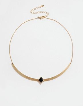 ASOS Enamel Cut Out Necklace