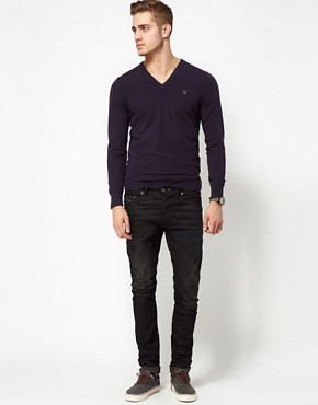 Image 4 ofDiesel Jumper With V Neck