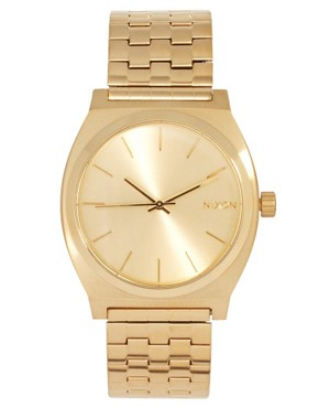 Image 1 of Nixon Gold Stainless Steel Watch
