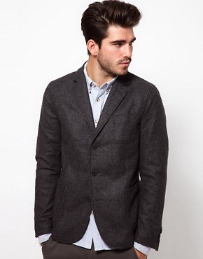 Image 1 ofDrykorn Blazer in Tweed