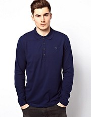 Diesel Long Sleeve Polo T-Timmy