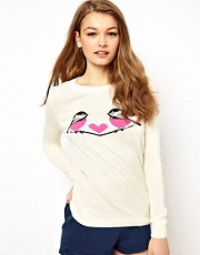 A Wear Longsleeve Love Birds Jumper