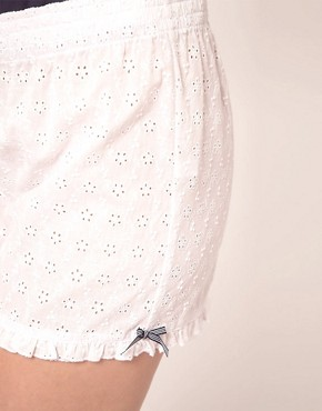 Image 3 ofEsprit White Capsule Shorts