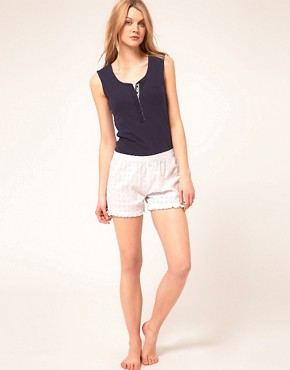 Image 1 ofEsprit White Capsule Shorts