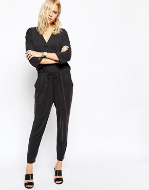 Just Female Lucy Jumpsuit in Black