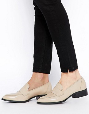 ASOS MADHATTER Leather Flat Shoes