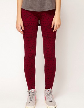 Image 4 ofBrat &amp; Suzie Nordic Stag Leggings