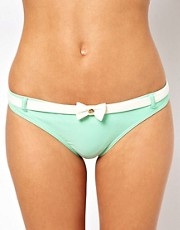 Ted Baker Contrast Bow Bikini Bottom