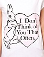 Image 3 ofThe Orphan&#39;s Arms I Don&#39;t Think Of You T-Shirt