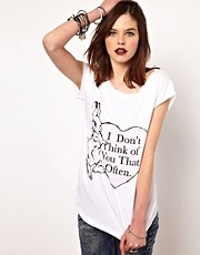 Camiseta I Don&#39;t Think Of You de The Orphan&#39;s Arms